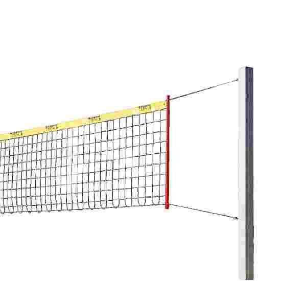 Installation de beach-volley Sport-Thieme « Stable » Sans rembourrage de protection pour poteau, Filet sans revêtement