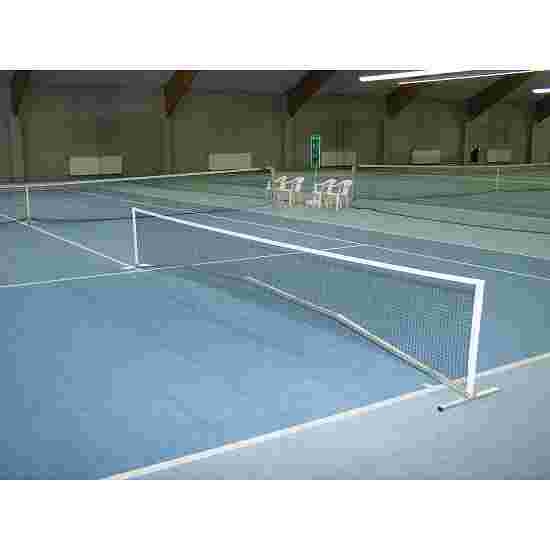 Installation de mini-tennis