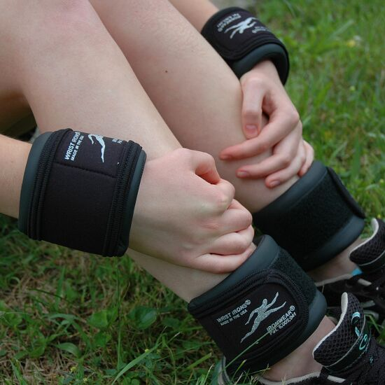 Ironwear Manchettes chevilles & poignets en cuir synthétique