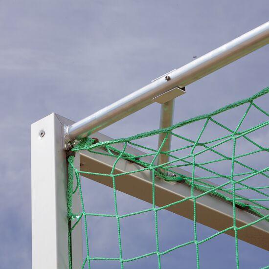 Jugendfussballtor 5x2 m, Quadratprofil, transportabel mit Bodenrahmen
