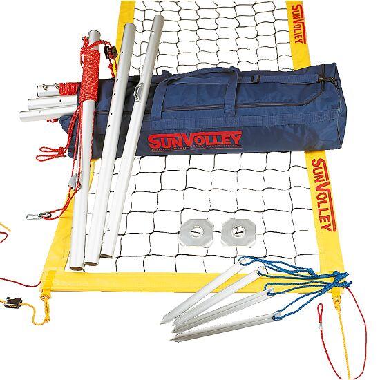 Kit de beach-volley SunVolley® « Plus » Sans lignes de délimitation