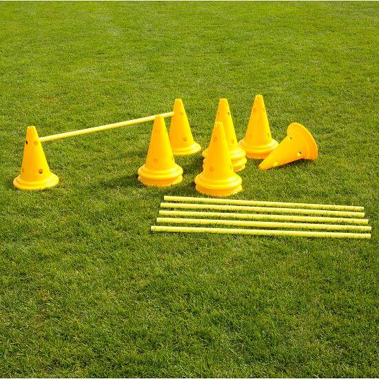 Kit de cônes-haies Cône 30 cm, jaune
