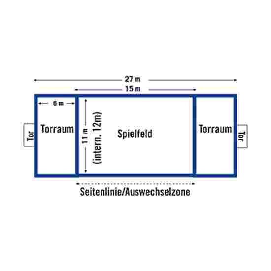Kit de délimitation pour terrain de beach handball Sport-Thieme FUN, 27x12 m/25 mm