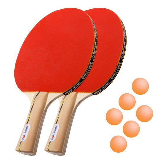 Kit de raquettes de tennis de table Sport-Thieme® « Vienne » Balles orange