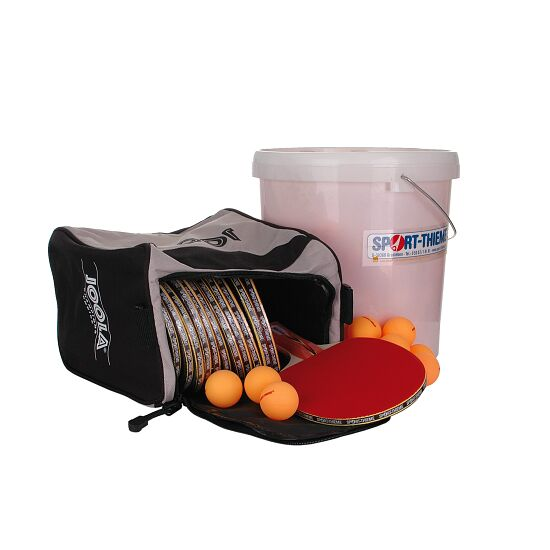 Kit de tennis de table Sport-Thieme® « Berlin » – Spécial écoles et clubs Balles orange