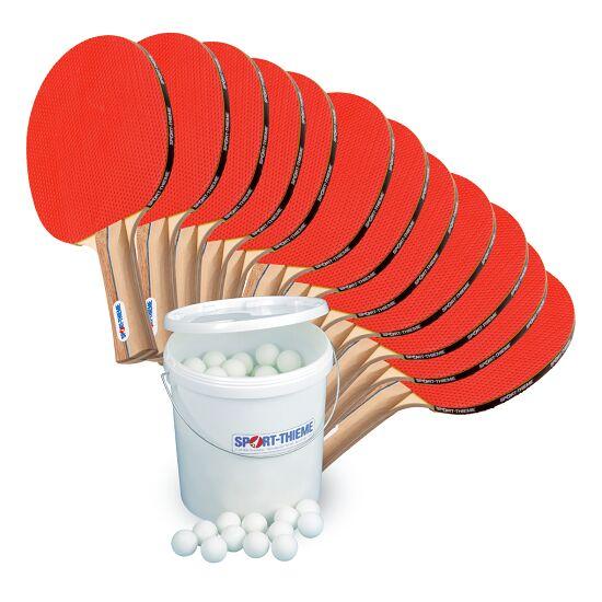 Kit de tennis de table Sport-Thieme® « Rome » – Spécial École Balles blanches