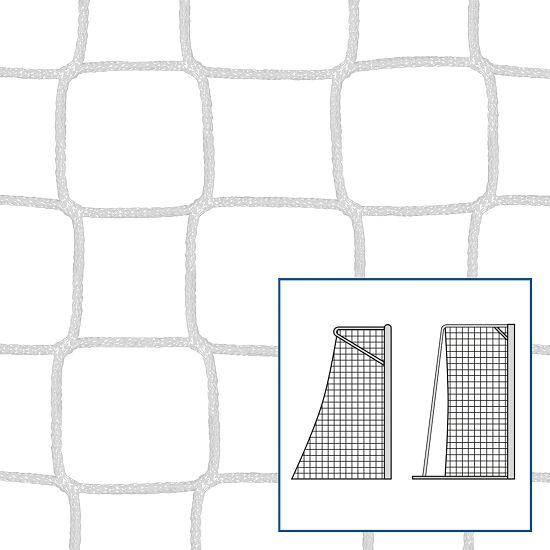 """Kleinfeld-/Handballtornetz """"80/100 cm"""" Weiss, 4 mm"""