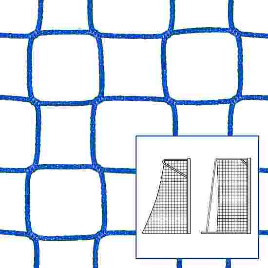 """Kleinfeld-/Handballtornetz """"80/100 cm"""" Blau, 4 mm"""