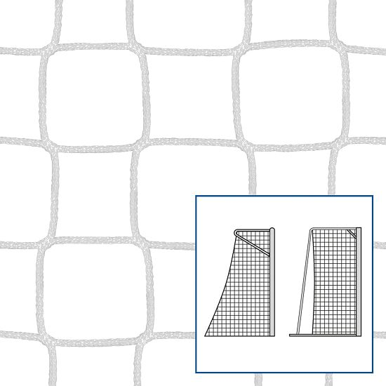 """Kleinfeld-/Handballtornetz """"80/100 cm"""" Weiss, 5 mm"""