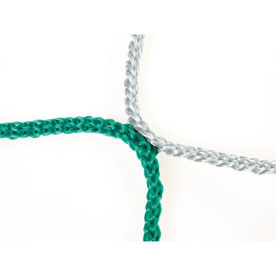 Knotenloses Herrenfussballtornetz 750x250 cm Grün-Weiss