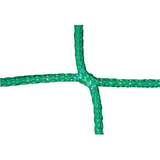 Knotenloses Jugendfussballtornetz Grün