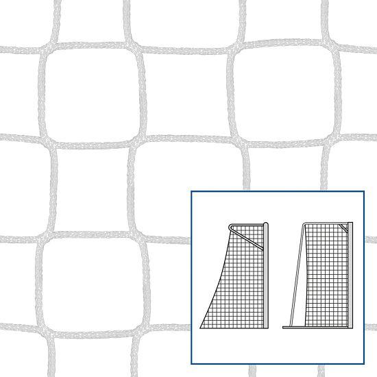 Knotenloses Kleinfeld-/Handballtornetz 310x210 cm Weiss