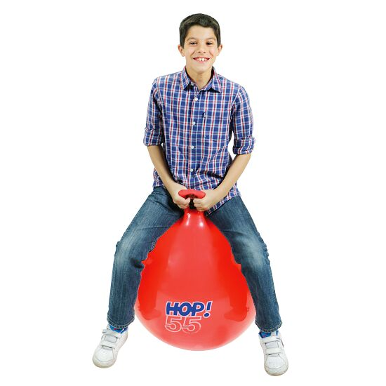Ledraplastic Hop-Hüpfball ø 55 cm, Rot