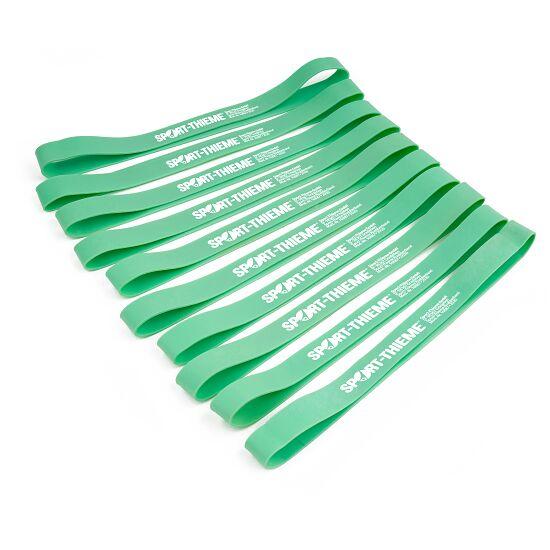 Lot de 10 bandes en caoutchouc Sport-Thieme® Vert, facile