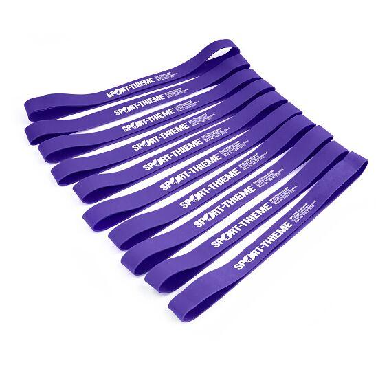 Lot de 10 bandes en caoutchouc Sport-Thieme® Violet, difficile