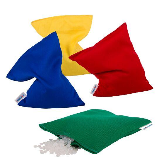 Lot de 4 sacs de fèves Sport-Thieme® Lavable avec granulés plastiques, 120 g, env. 15x10 cm