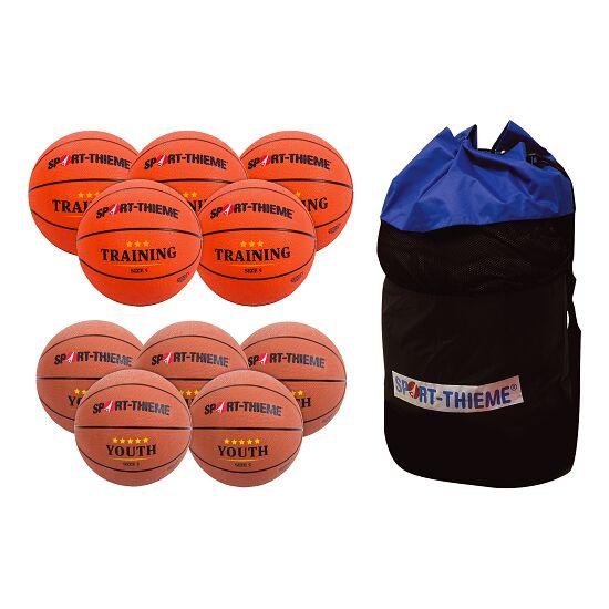 Lot de ballons de basket Sport-Thieme « Jeune» Ado