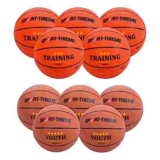 Lot de ballons de basket Sport-Thieme « Relève » Junior (Taille 5)