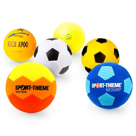 Lot de ballons de football « Best of Soft »