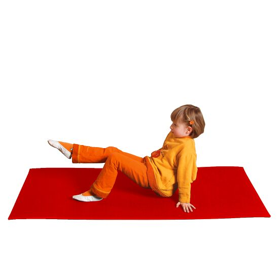 Lot de mini tapis Rouge