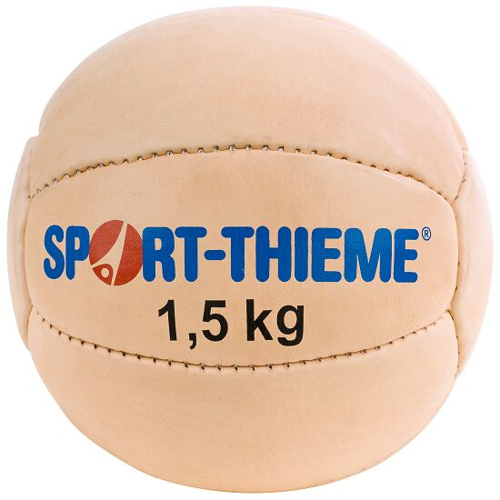 Medecine ball Sport-Thieme® « Classique » 1,5 kg, ø 19 cm