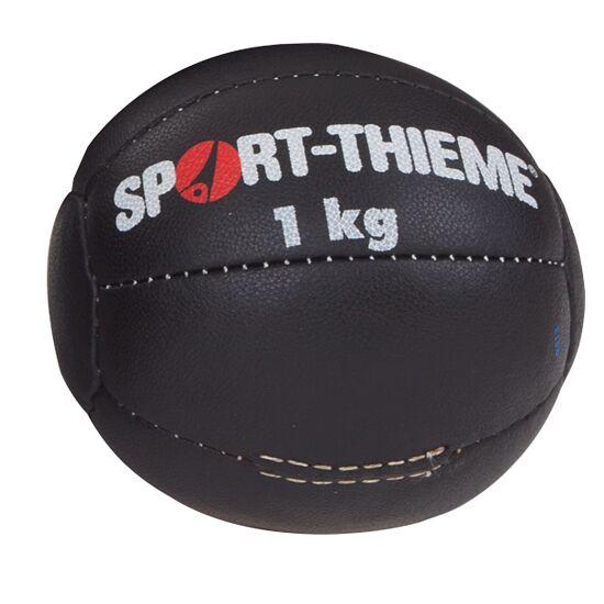 Medecine ball Sport-Thieme « Noir » 1 kg, ø 18 cm