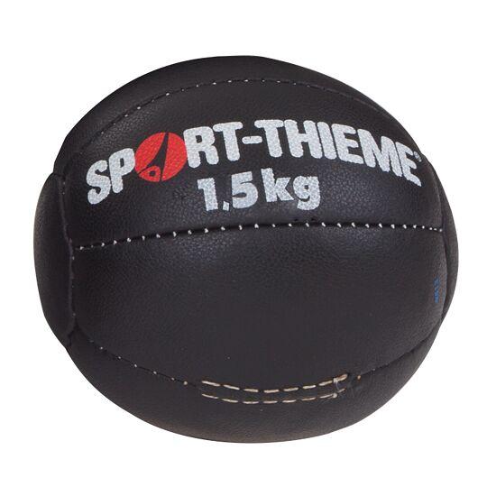 Medecine ball Sport-Thieme « Noir » 1,5 kg, ø 19 cm