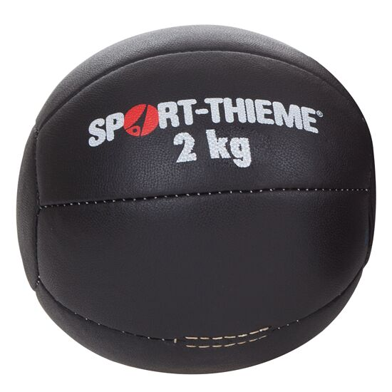 Medecine ball Sport-Thieme « Noir » 2 kg, ø 22 cm