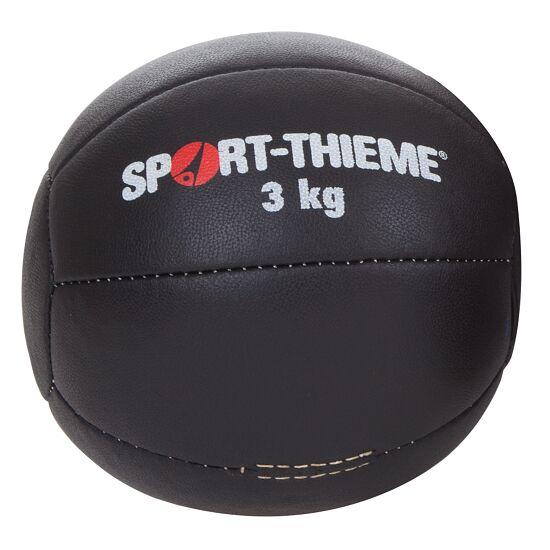 Medecine ball Sport-Thieme « Noir » 3 kg, ø 22 cm