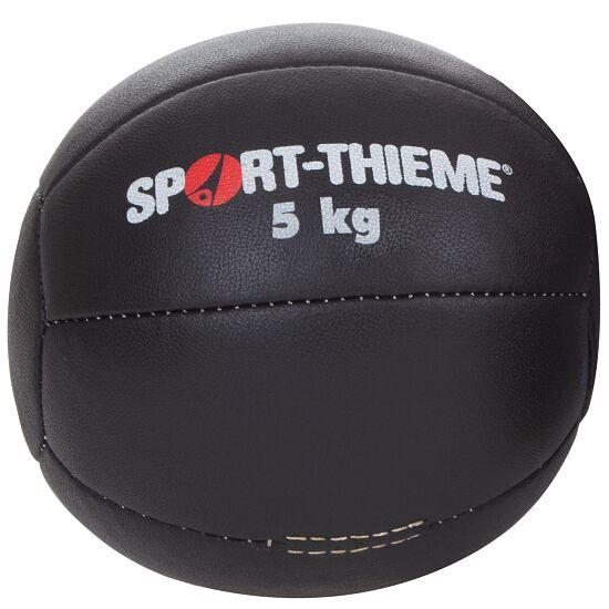 Medecine ball Sport-Thieme « Noir » 5 kg, ø 28 cm
