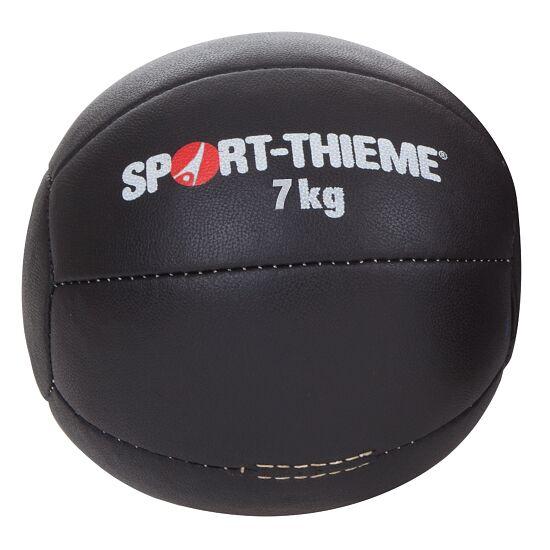 Medecine ball Sport-Thieme « Noir » 7 kg, ø 22 cm