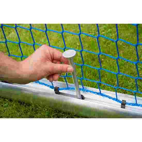 Minibut d'entraînement Sport-Thieme entièrement soudé 1,20x0,80 m, profondeur 0,70 m, Filet inclus, vert (mailles 10 cm)