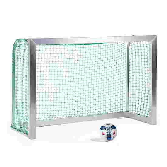 Minibut d'entraînement Sport-Thieme entièrement soudé 1,80x1,20 m, profondeur 0,70 m, Filet inclus, vert (mailles 4,5 cm)