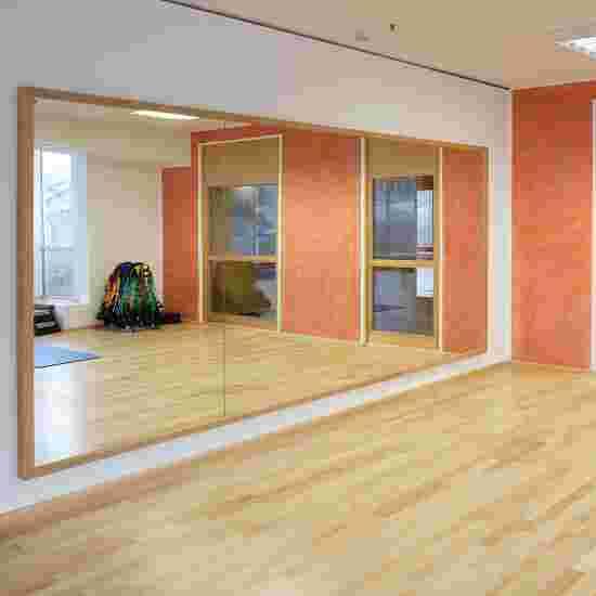 Miroir de sécurité « Cristal » lxH : 200x100 cm