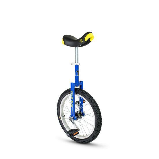 Monocycle d'extérieur Qu-Ax® « Luxe » Pneu 18'' (ø 46 cm), cadre bleu