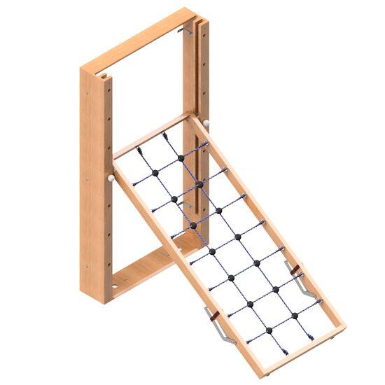 Mur d'escalade Sport-Thieme® rabattable Filet d'escalade, Sans tapis de protection antichute