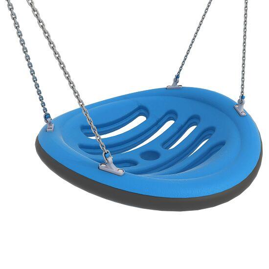 Nestschaukel mit Aufhängeketten Aufhängehöhe 260 cm, Blau
