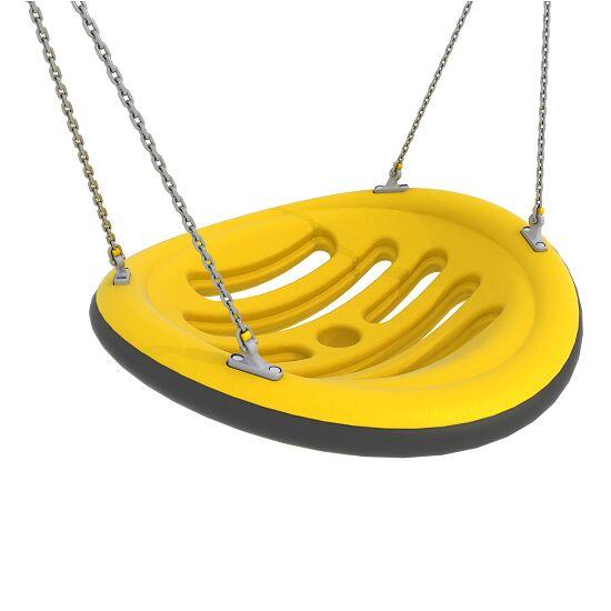 Nestschaukel mit Aufhängeketten Aufhängehöhe 260 cm, Gelb