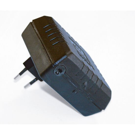 Netztrafo für Blasensäulen 12V Steckertrafo 30 VA mit weissem Stecker