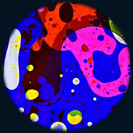 Opti Kinetics Flüssigkeitseffektrad Mystical Nights