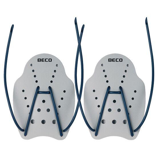 Paddles de natation Taille L, 23x19 cm, Gris