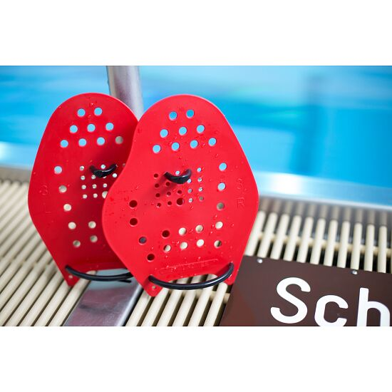 Paddles Sport-Thieme® Swim-Power® Taille L, 23x19 cm, Rouge