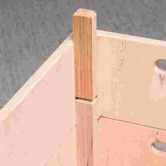 Plinth Sport-Thieme « Multiplex » 4 caissons Sans dispositif de transport sur roulettes, Cuir