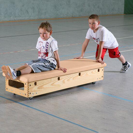 Plinth Sport-Thieme® « Original » 6 caissons Avec dispositif de transport & couvercle à roulettes