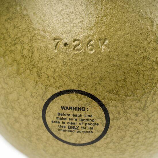 Poids d'entraînement Sport-Thieme® 7,26 kg, jaune, ø 126 mm