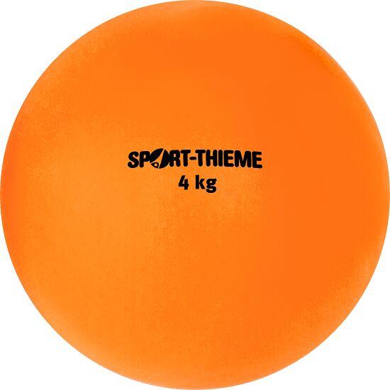 Poids Sport-Thieme en plastique 4 kg, orange, ø 134 mm
