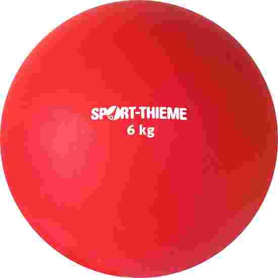 Poids Sport-Thieme en plastique 6 kg, rouge, ø 140 mm