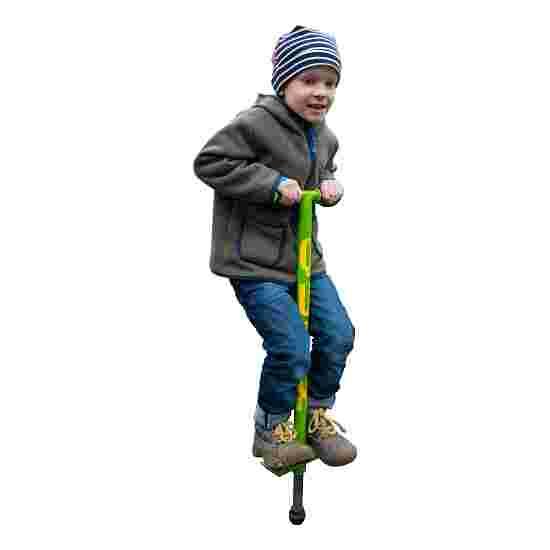 Qu-Ax Bâton sauteur Pogo-Stick Vert fluo, L : 86 cm, jusqu'à 20 kg