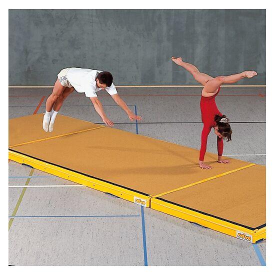 Reivo Kombi-Niedersprungmatte 300x200x12 cm, Bernsteingelb