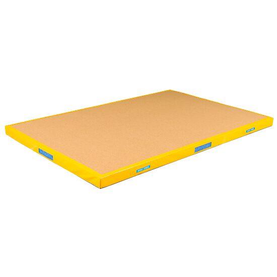 Reivo Tapis de réception Combi 200x150x12 cm, Jaune orangé
